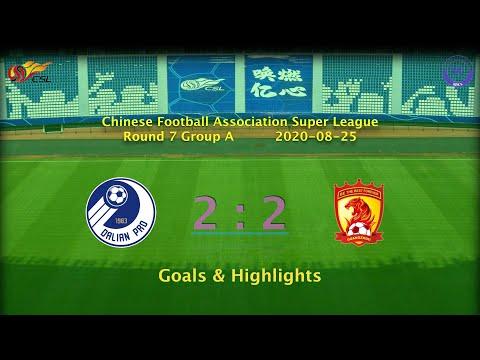 Dalian Pro Guangzhou Evergrande Goals And Highlights