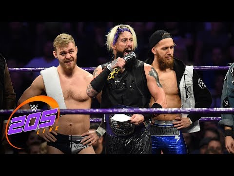 """Enzo Amore welcomes the U.K. Championship division to """"The Zo Show"""": WWE 205 Live, Nov. 7, 2017"""