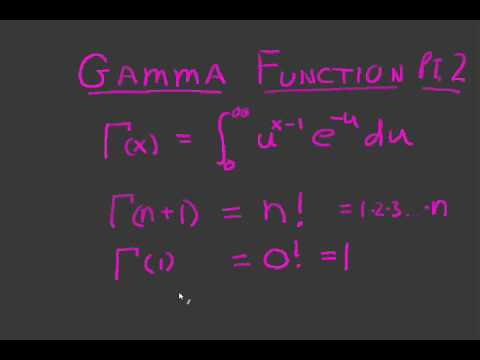 Gamma of One Half Equals What??