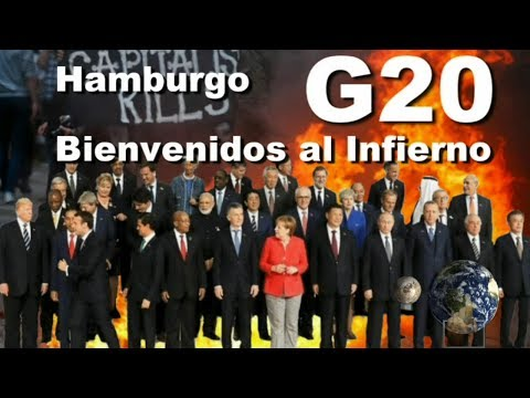 G20 Hamburgo - Lo que ocultaron los medios / What the media hid (Welcome to Hell)