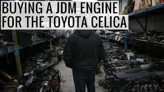 Which JDM Engine will Power our RA24 Toyota Celica? - EP02