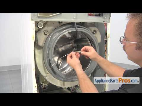 ge front load washer door gasket replacement youtube rh youtube com