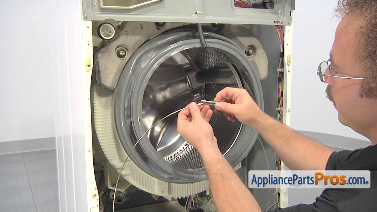 Washer Door Boot Seal (part #WH08X10036) - How To Replace - YouTube