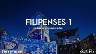 📖 🔈 FILIPENSES 1 (Traducción en lenguaje actual)   Biblia en audio