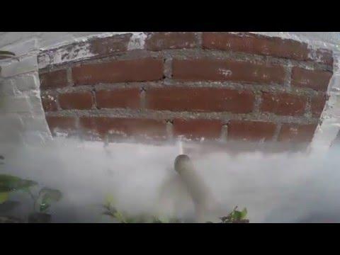 Professioneel muurverf verwijderen van (bak) stenen   Schoonmaakbedrijf de Jong