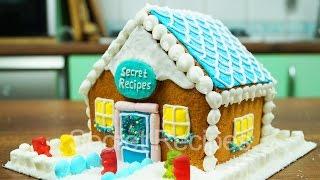 Имбирный домик. Как сделать пряничный домик | gingerbread house