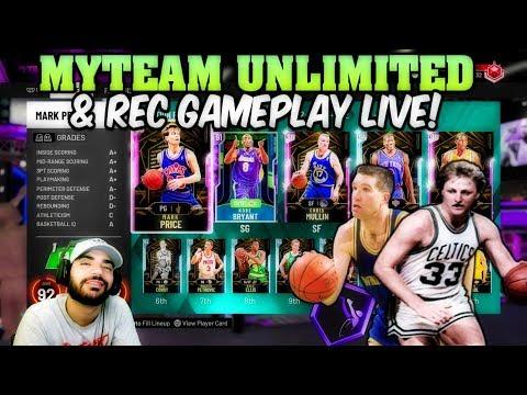 5V5 REC GAMEPLAY LIVE! NBA 2K20 SHARPSHOOTING 6'5 GUARD PUTTING IN WORK!