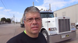 76 a little issue nothing too bad the life of an owner operator flatbed truck driver vlog