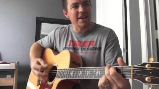 Whiskey In My Water - Tyler Farr (instructional / chords)