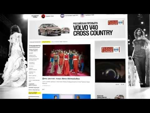 Conde Nast Russia Creative Studio Showreel