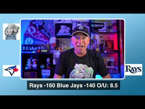 Tampa Bay Rays vs Toronto Blue Jays Free Pick 8/21/20 MLB Pick and Prediction MLB Tips