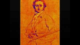 Niccolo Paganini - Sonata 4 in A minor Andante Largo