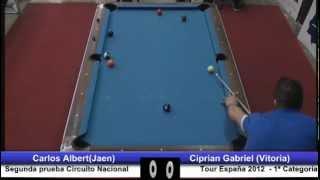 Final 2ª Prueba Circ. Nacional Tour España 2012; Carlos Albert vs Ciprian Gabriel