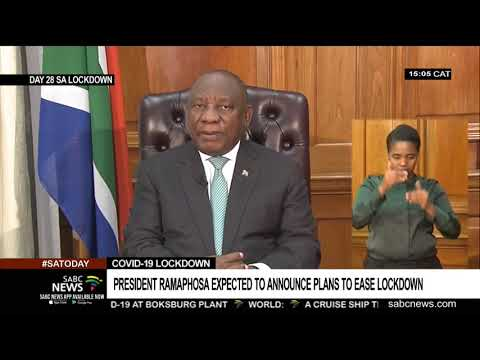 PREVIEW | President Ramaphosa To Address The Nation On Lockdown Regulations Thursday Night