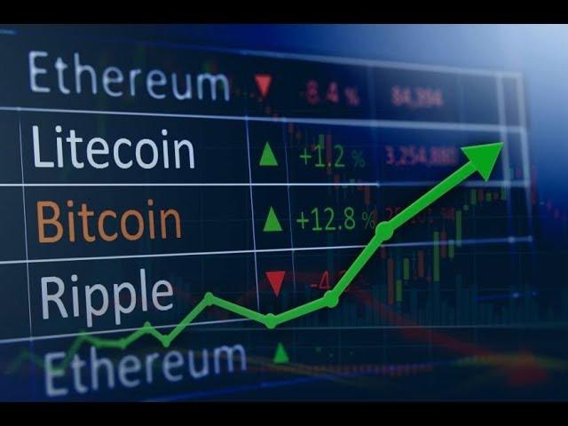 Prekiauti su bitcoin arba ethereum