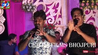 2018 stage show pawan singh 2018 बलिया मे लाइव स्टेज शो पर पवन सिंह का हुआ ज़बरदस्त स्वागत