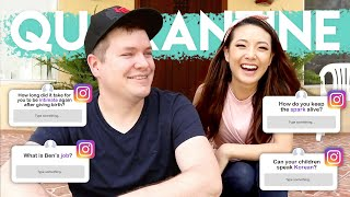 ASK JEN & BEN || Ep. 9 Quarantine (Intimacy? Speaking Korean? Gender Roles?)