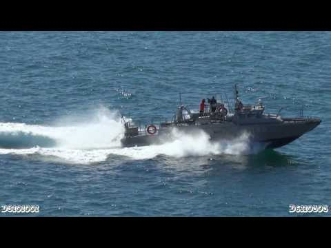 Mexican Navy uses fast Swedish combat boat!
