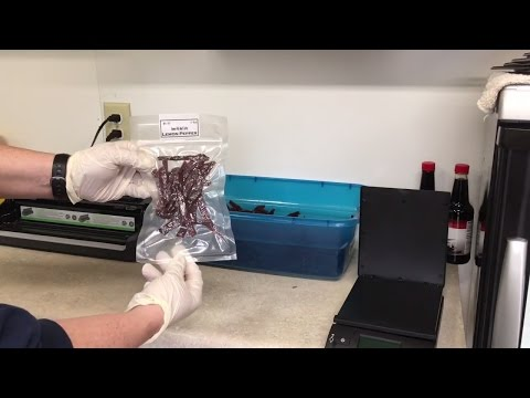 How To Package Jerky For Selling Or For Storing. #beefjerky #food #meat