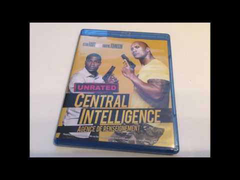 Critique Blu-ray Central Intelligence (Agence de renseignement)