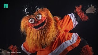 Gritty The NHL Mascot Is Terrifying