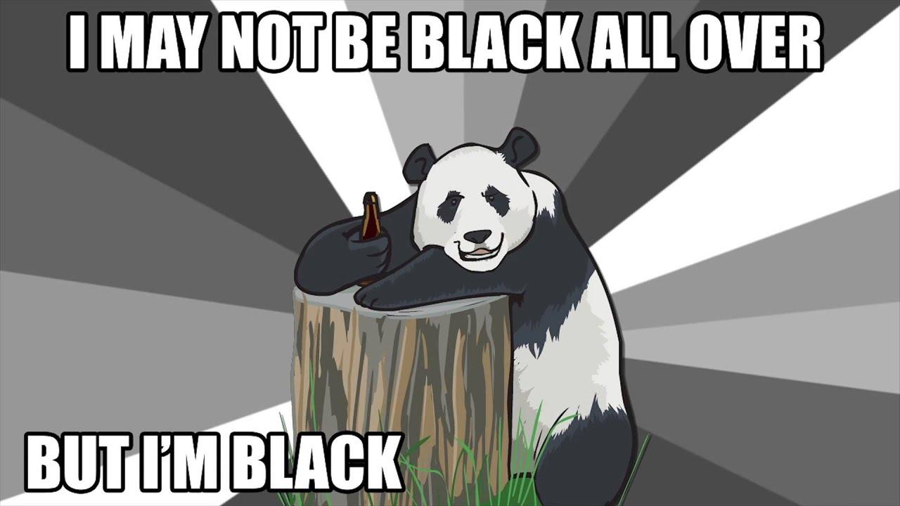 line drunk Pickup panda
