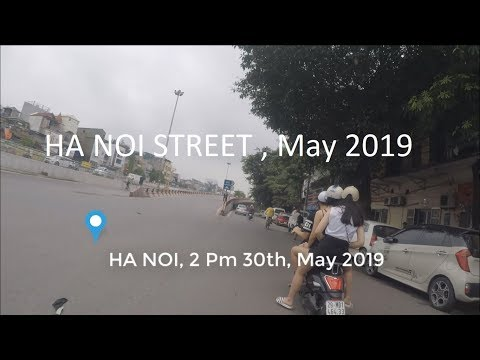 HA NOI - VIET NAM | Street HA NOI with Motorcycle, GOPRO HERO 5 BLACK | Novels Online VOV