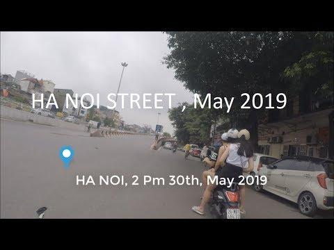 HA NOI - VIET NAM   Street HA NOI with Motorcycle, GOPRO HERO 5 BLACK   Novels Online VOV