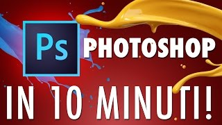 Best Photoshop Tutorial for Beginners in Italian language