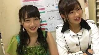 2017年12月04日 SHOWROOM NMB48 谷川愛梨・山本彩加.