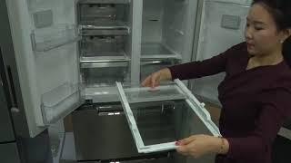 위니아딤채] 딤채스탠딩 상실 냉기커버 분리방법