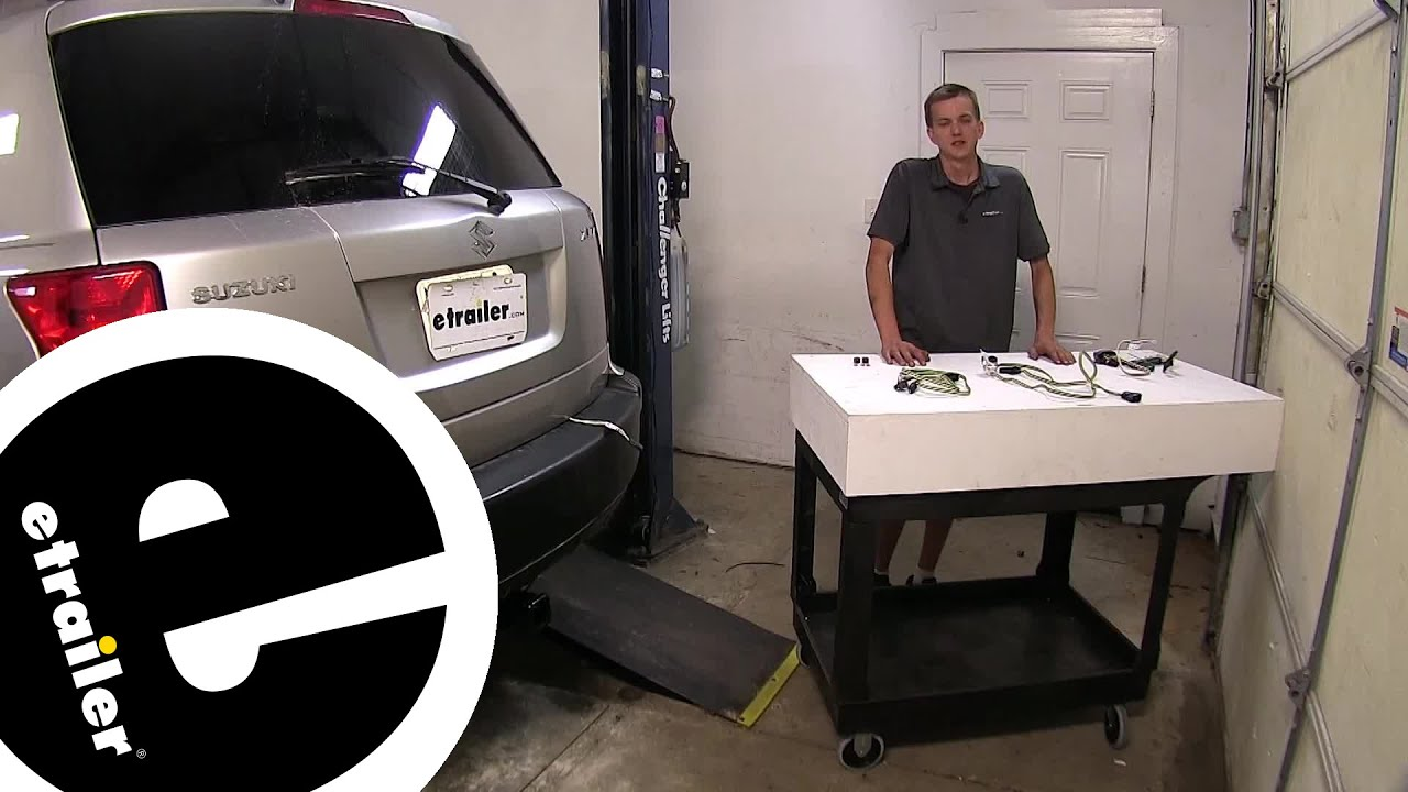 hight resolution of best 2007 suzuki xl7 custom fit vehicle wiring options etrailer com