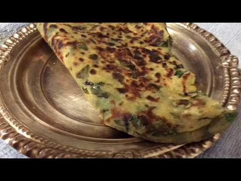 Iron And Protein Paratha For 1 Year + KidsHealthy Kids Recipe Lunch Box Idea