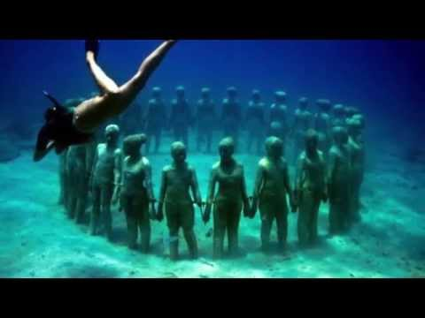 Amazing Underwater World by Jason Decaires Taylor