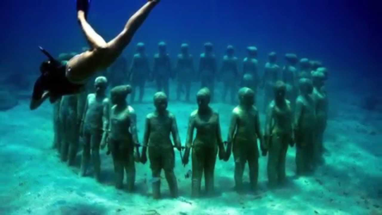 Amazing Underwater World by Jason Decaires Taylor YouTube