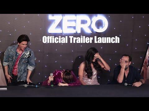 Zero Official Trailer Launch | Shahrukh Khan, Katrina Kaif, Anushka Sharma | SRK 53rd Birthday