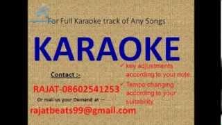 Rasm E Ulfat Koni Bhaye Lata Mangeshkar Karaoke Track