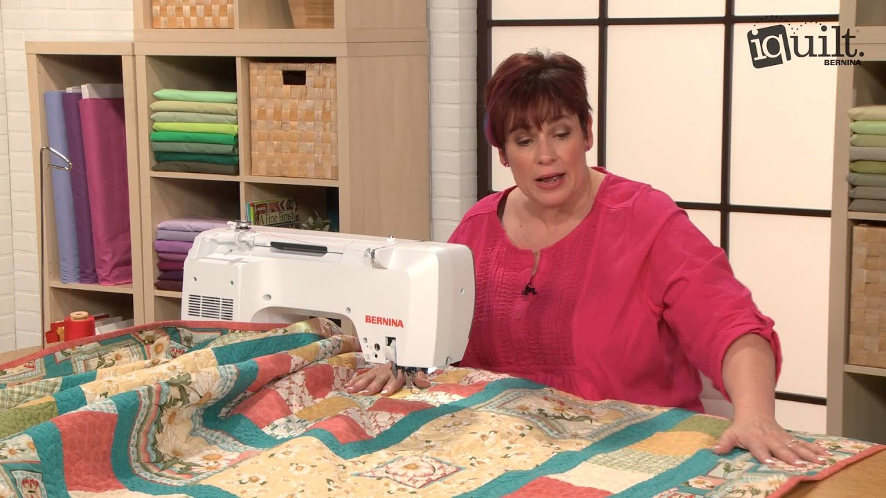 Mary Smallegan - Tips for Quilting on a Domestic Sewing Machine ... : machine quilting at home - Adamdwight.com
