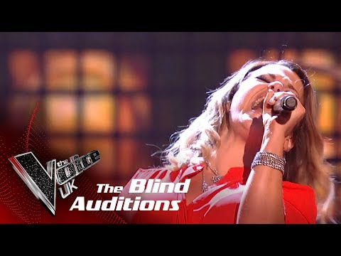 Tesni Jones Performs 'Highway To Hell': Blind Auditions | The Voice UK 2018