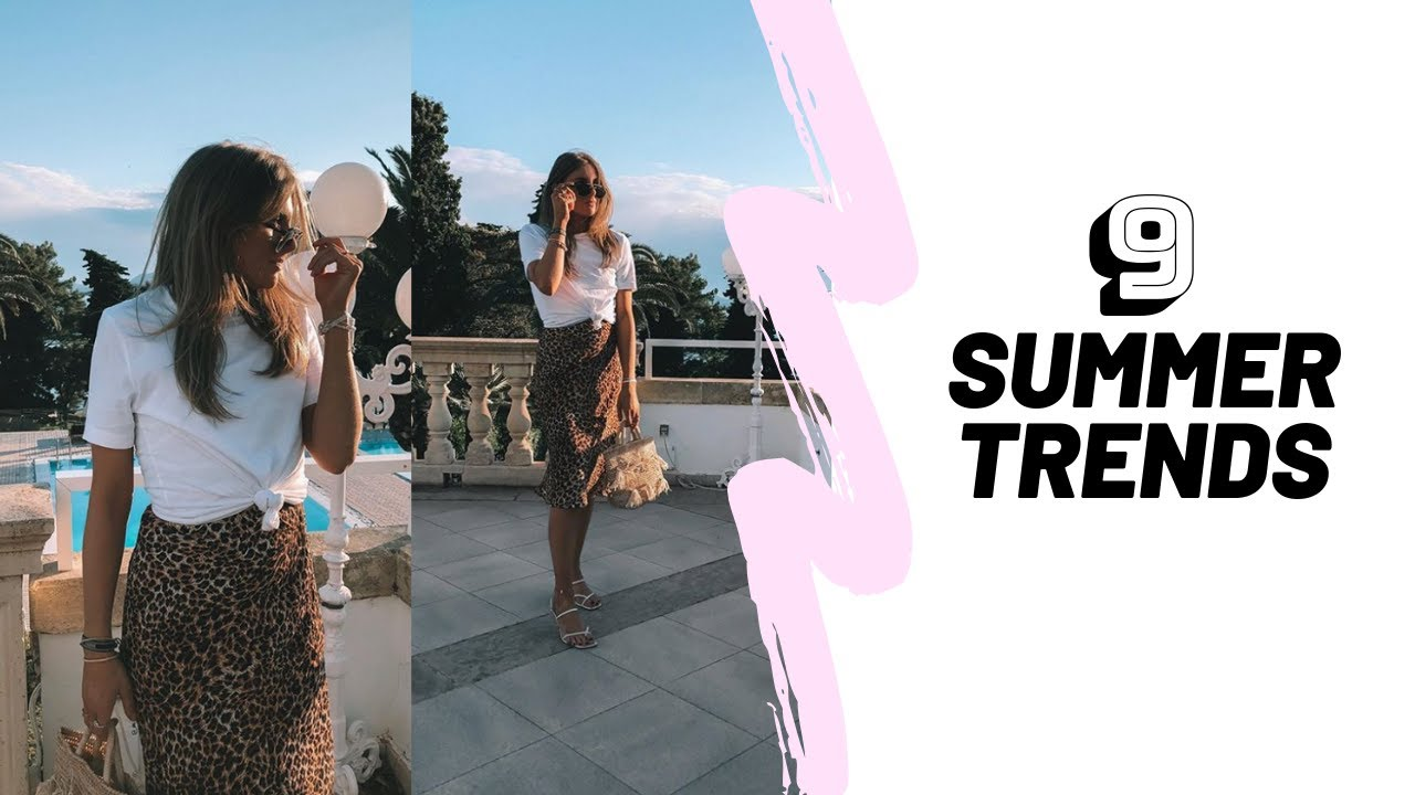 9 WEARABLE SUMMER TRENDS 2019 | Summer Lookbook 6