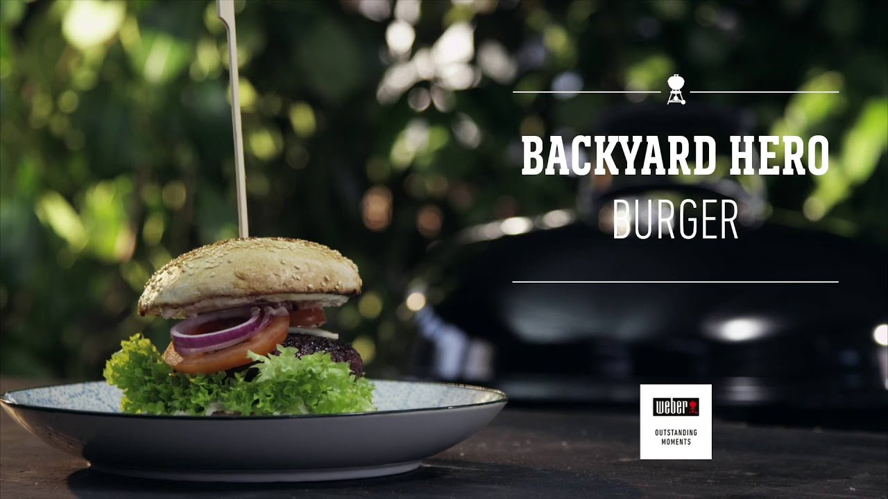 backyard hero burger youtube