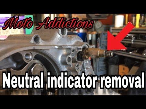 Honda ATC 70 Neutral Indicator Removal | Moto Addictions
