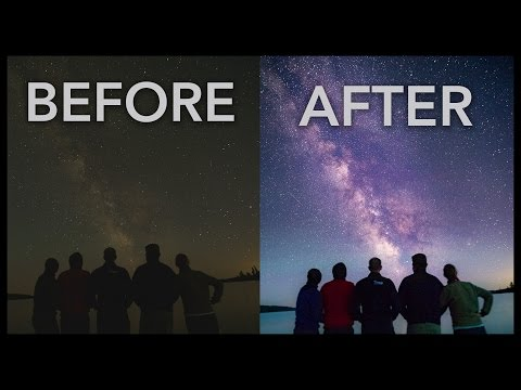 Lightroom Basics: How to Edit a Milky Way Photo