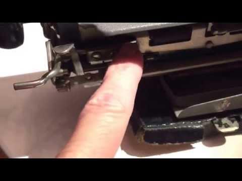 Remington portable paper release