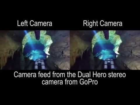 Underwater Cave Mapping using Stereo Vision