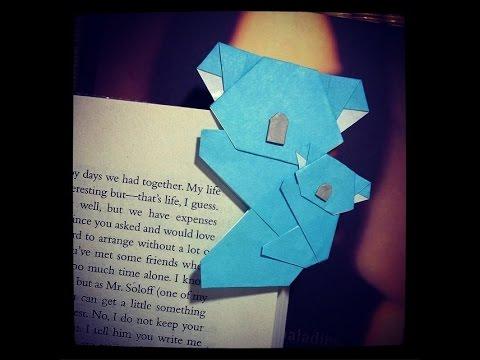 How To Make Bookmark Koala