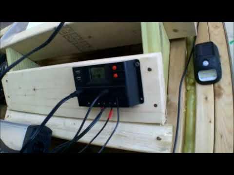 100 watt solar, harbor freight 100 watt solar kit review, solar set up diy