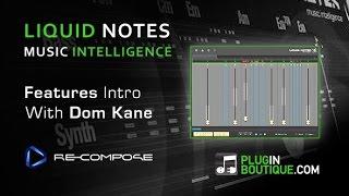Re-Compose Liquid Notes Plugin Tour - Advanced Harmony Analysis