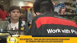 Fresh grads struggle with 'job mismatch'