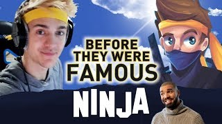 NINJA | TYLER BLEVINS | Before They Were Famous | Fortnite Twitch Stream w. Drake